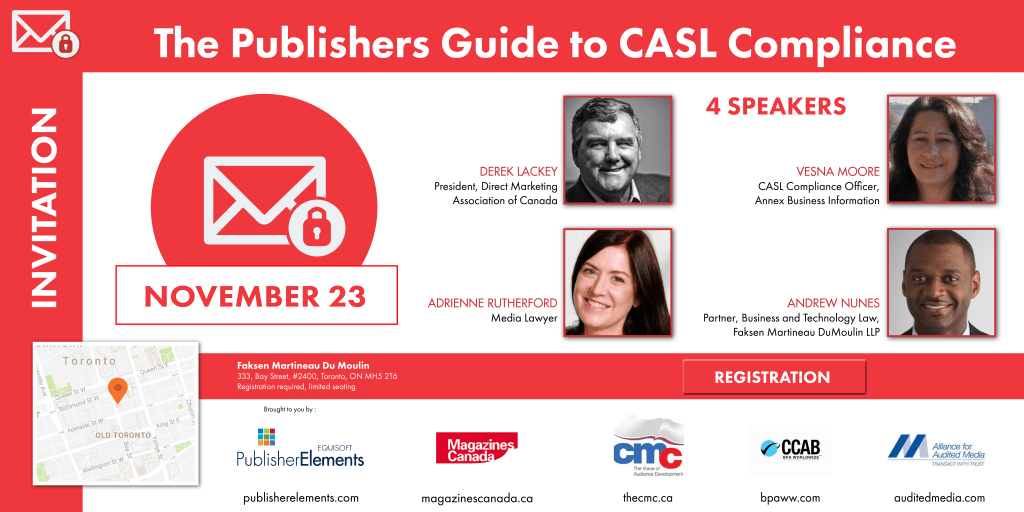 The Publishers Guide to CASL Compliance